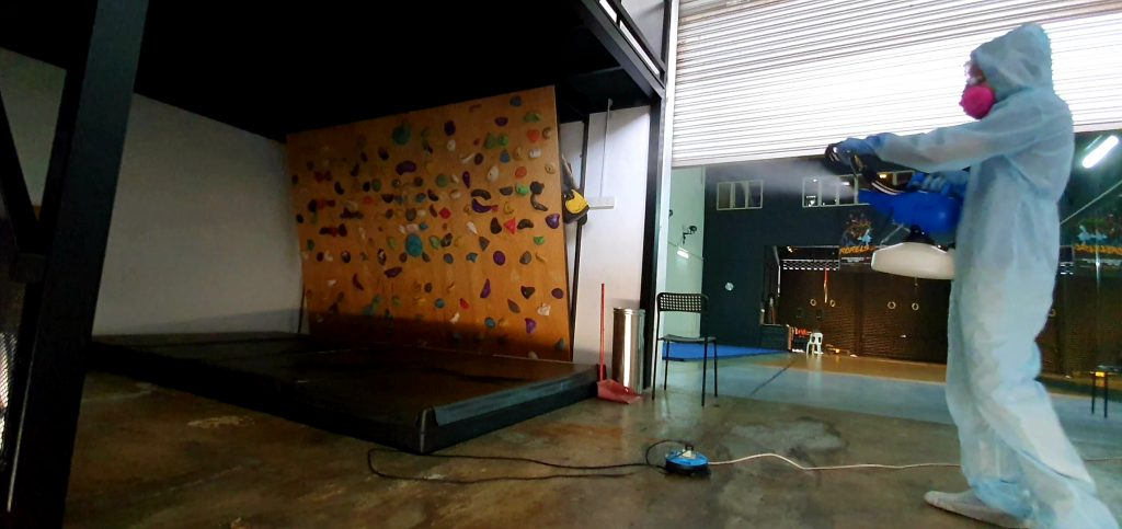 Professional Disinfection of Gyms and Fitness Centres in Selangor