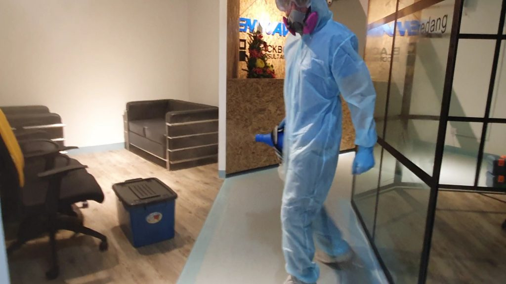 Professional Disinfection of Offices-Warehouses-Factories in Selangor